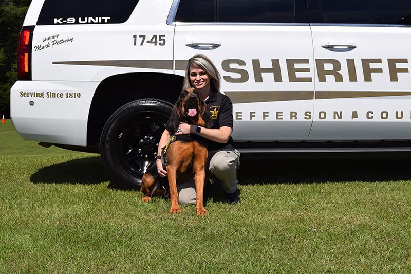 Jefferson County Sheriff Department - Deputy Barrett and Naiyah