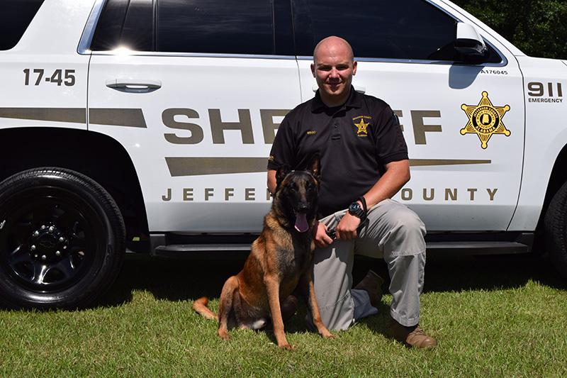 Jefferson County Sheriff Department - Deputy Misso and Deacon