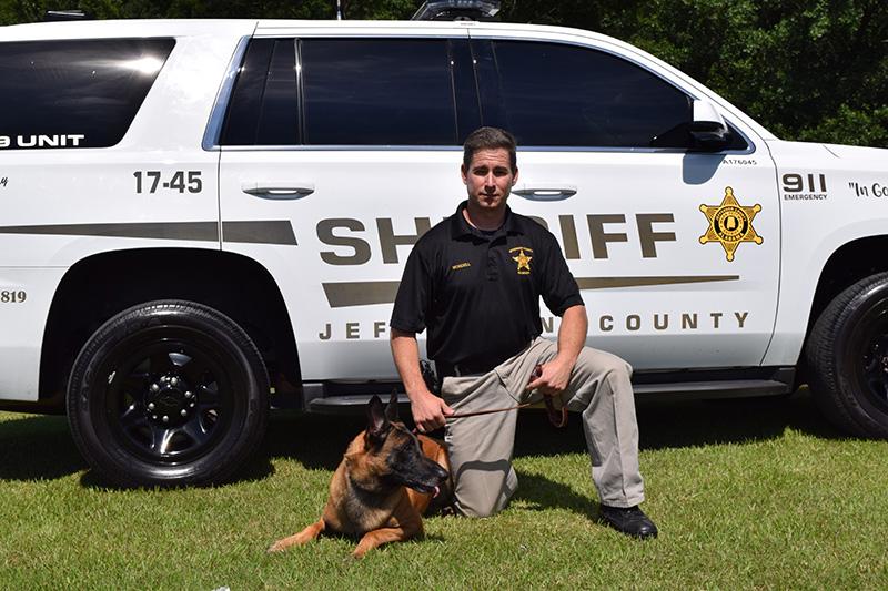 Jefferson County Sheriff Department - Deputy Wordell and Diesel