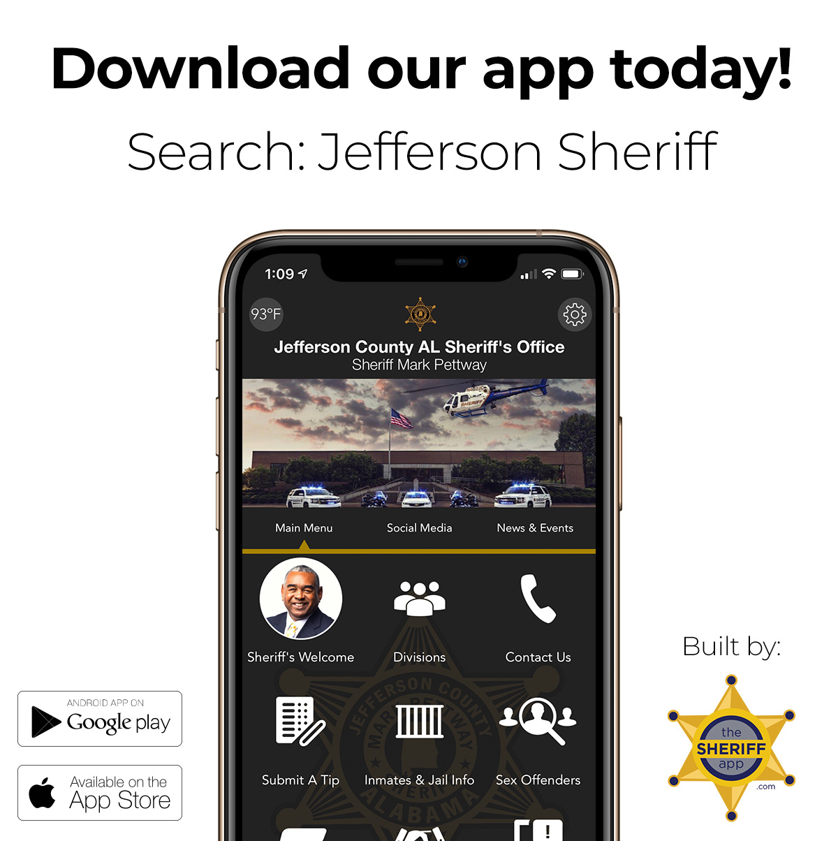 Jefferson-County-Sheriff-Department-Alabama-App-Social-Media